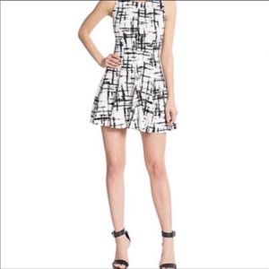 Saks fifth ave fit and flare dress